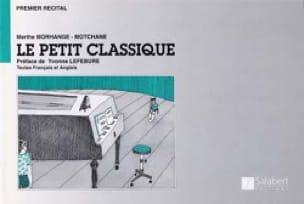 Le Petit Classique - Marthe Morhange-Motchane - laflutedepan.com