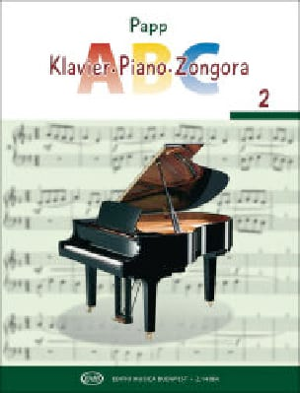 Lajos Papp - ABC, Volume 2 - Partition - di-arezzo.fr
