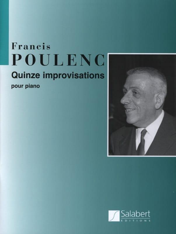 Francis Poulenc - 15 Improvisations - Partition - di-arezzo.com