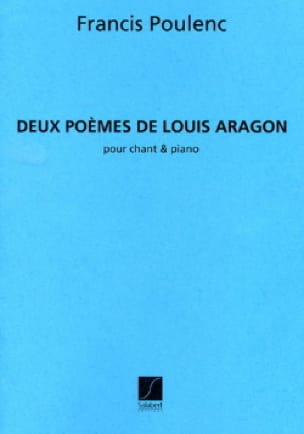 Francis Poulenc - 2 Poems of Aragon - Partition - di-arezzo.co.uk