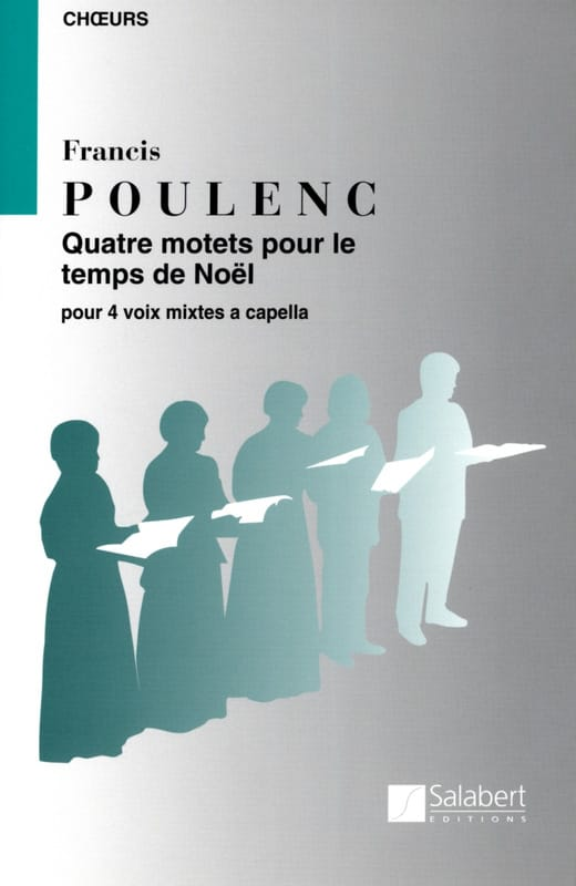 Francis Poulenc - 4 Motets For a Christmas Time - Partition - di-arezzo.co.uk