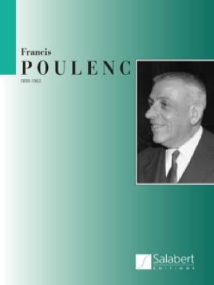 Francis Poulenc - Aubade. 2 Pianos - Partition - di-arezzo.co.uk