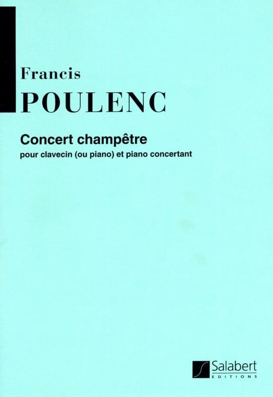 Francis Poulenc - Country Concert - Partition - di-arezzo.com