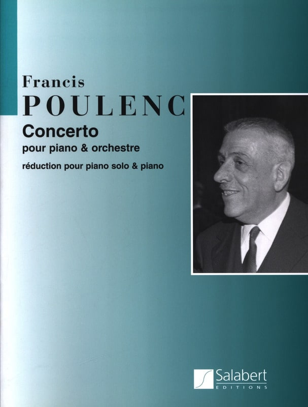 Francis Poulenc - Piano Concerto - Partition - di-arezzo.co.uk