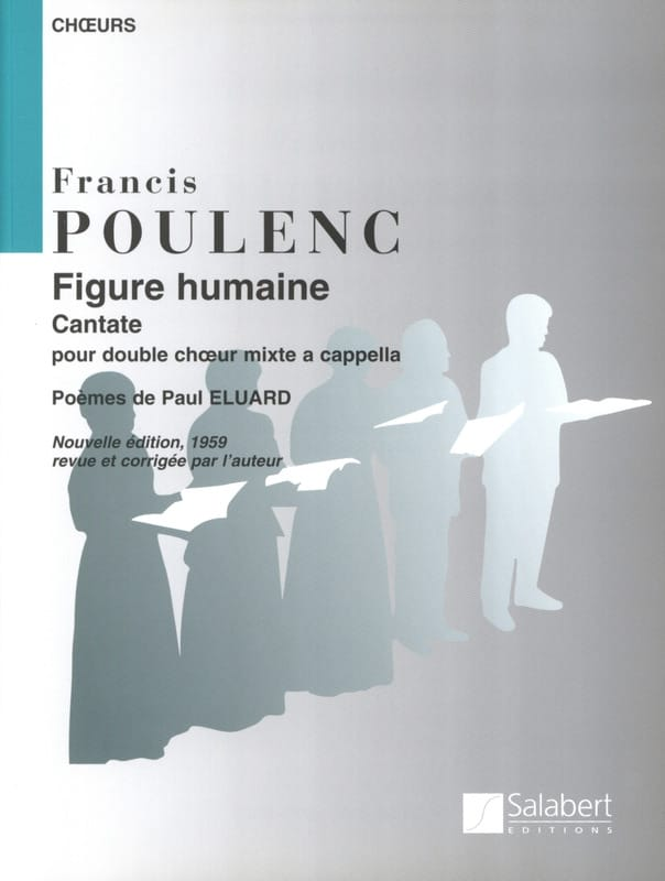 Francis Poulenc - The Human Figure - Partition - di-arezzo.co.uk