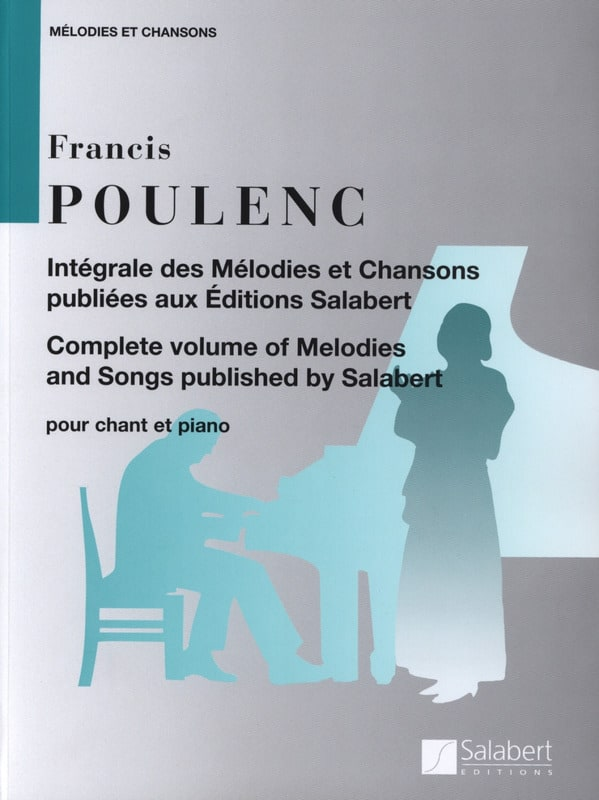 Francis Poulenc - Complete Melodies and Songs - Partition - di-arezzo.co.uk