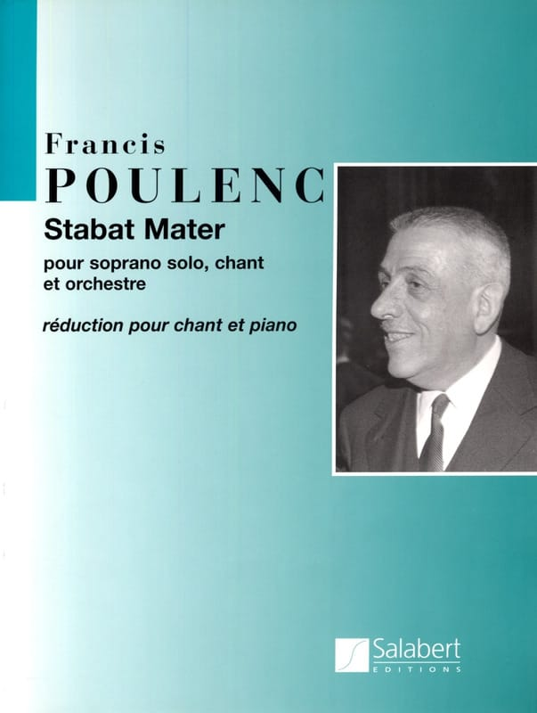 Francis Poulenc - Stabat Mater - Partition - di-arezzo.fr