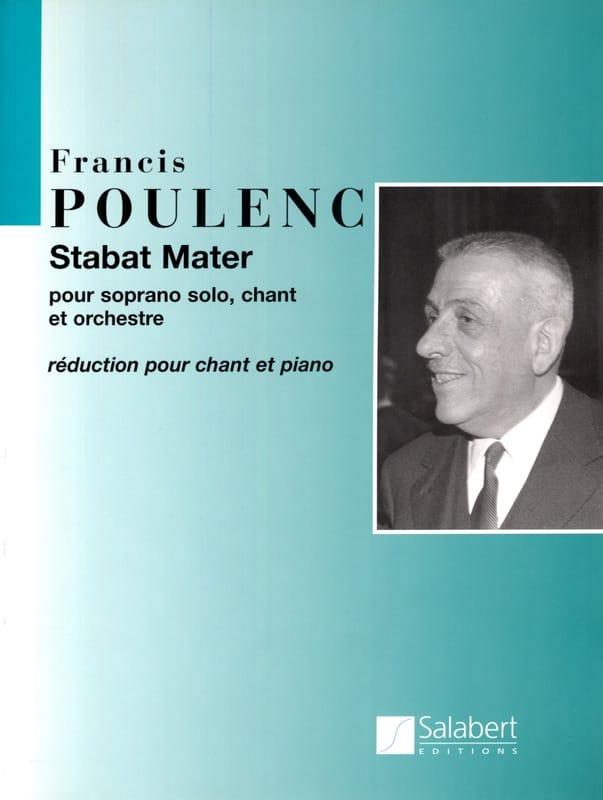 Francis Poulenc - Stabat Mater - Partition - di-arezzo.com