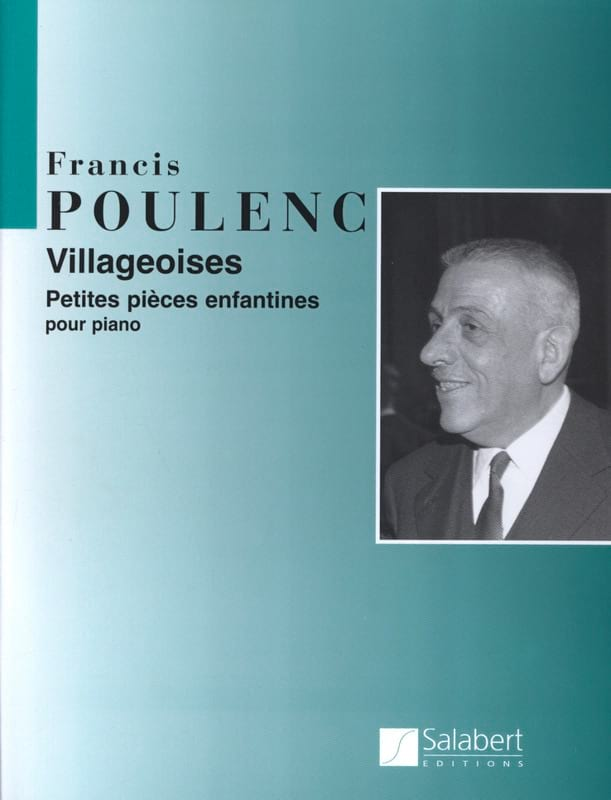 Francis Poulenc - village - Partition - di-arezzo.co.uk