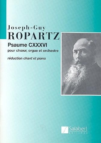 Guy Ropartz - Psalm 136 - Partition - di-arezzo.co.uk