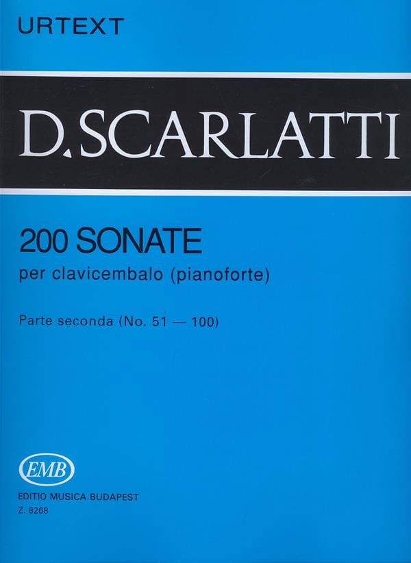 Domenico Scarlatti - Sonatas. Volume 2 - Partition - di-arezzo.co.uk