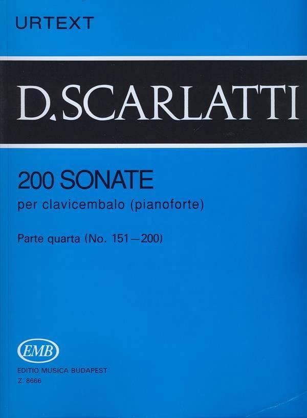 Domenico Scarlatti - Sonatas, Volumen 4 - Partition - di-arezzo.es