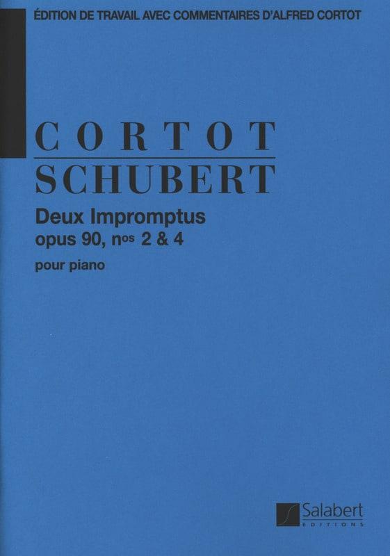 2 Impromptus, Opus 90-2 et 90-4 - SCHUBERT - laflutedepan.com