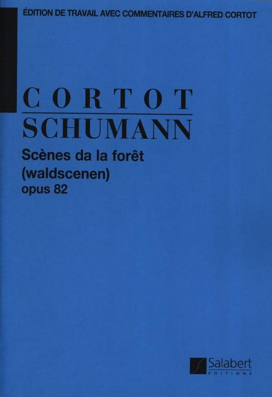 Scènes de la forêt, Opus 82 - SCHUMANN - Partition - laflutedepan.com