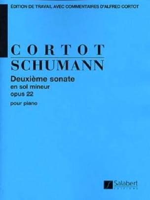 Sonate N° 2 en Sol Mineur Opus 22 - SCHUMANN - laflutedepan.com