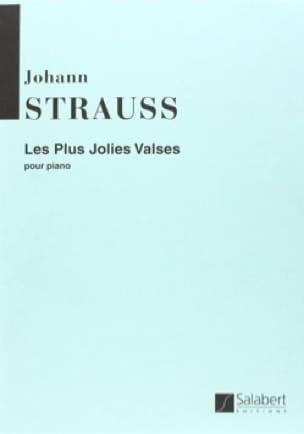 Les Plus Jolies Valses - J. Strauss - Partition - laflutedepan.com