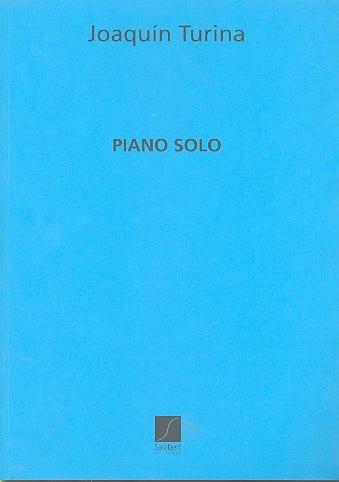 Piano Solo - TURINA - Partition - Piano - laflutedepan.com