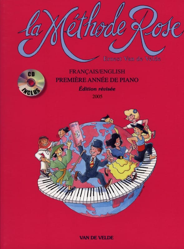 - Rose Method - Piano - With CD - Partition - di-arezzo.com