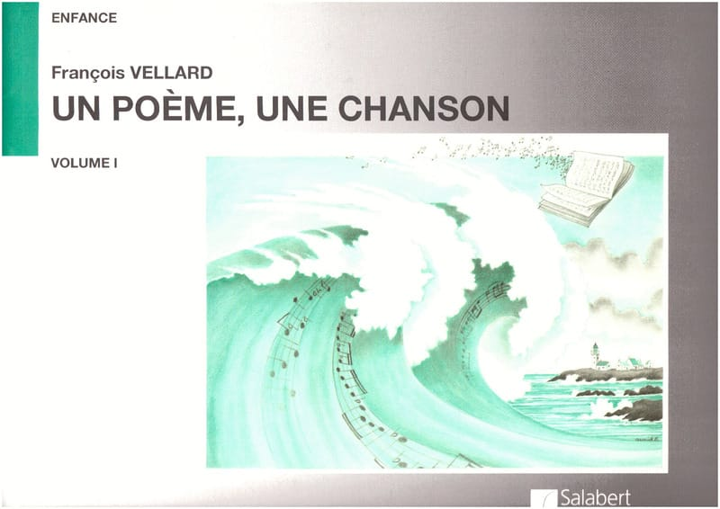 François Vellard - A Poem, a Song, Volume 1 - Partition - di-arezzo.co.uk