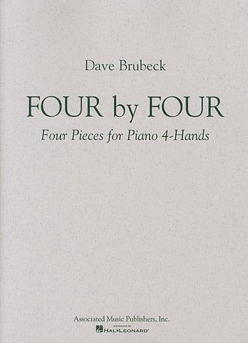 4 By 4. 2 Pianos - Dave Brubeck - Partition - Piano - laflutedepan.com