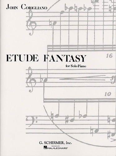 Etude Fantasy - John Corigliano - Partition - Piano - laflutedepan.com