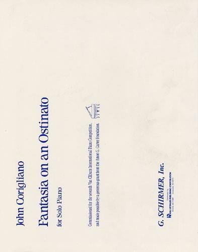 Fantasia On An Ostinato - John Corigliano - laflutedepan.com