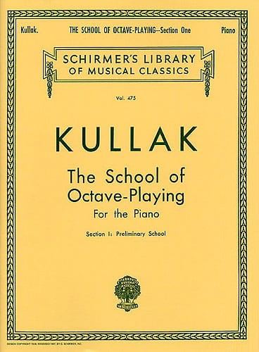 L' Ecole des Octaves. Volume 1 - Theodor Kullak - laflutedepan.com