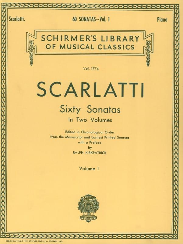 Domenico Scarlatti - 60 Sonatas. Volumen 1 - Partition - di-arezzo.es