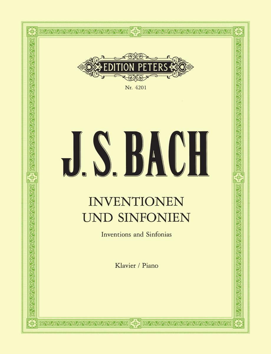 BACH - Inventionen und Sinfonien. - Partition - di-arezzo.com