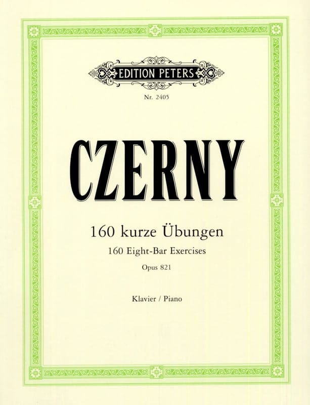 CZERNY - The Opus 821 Morning Hours - Partition - di-arezzo.co.uk