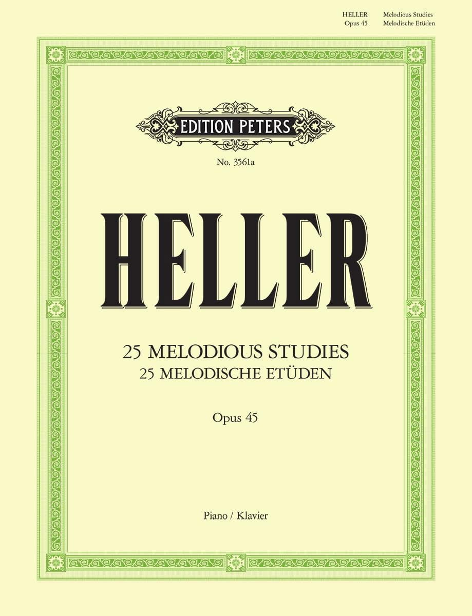 Stephen Heller - 25 Melodic Studies Opus 45 - Partition - di-arezzo.co.uk