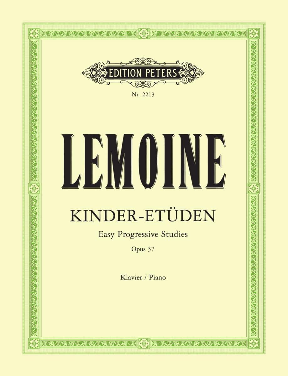 Henry Lemoine - 50 Etudes Opus 37 - Partition - di-arezzo.co.uk