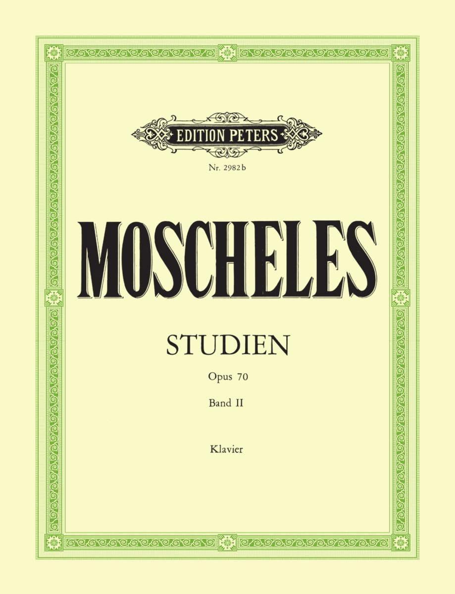 Etudes Opus 70 Volume 2 - Ignaz Moscheles - laflutedepan.com