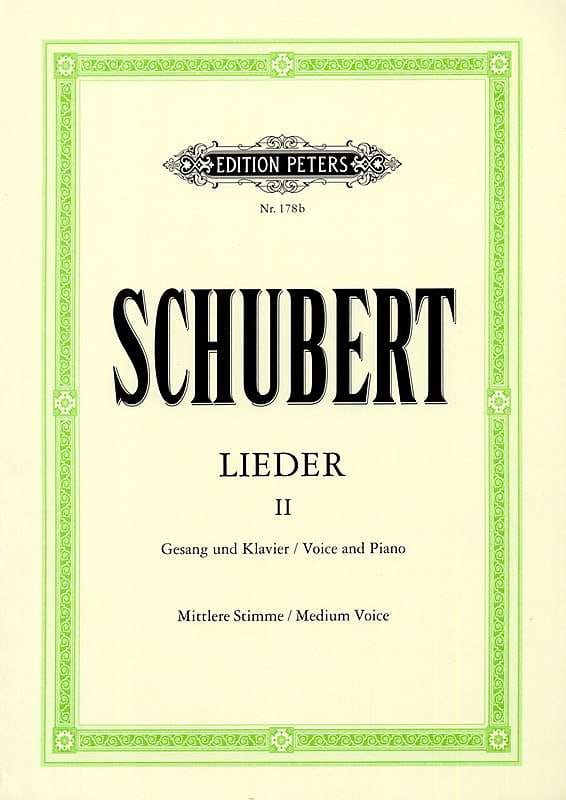 SCHUBERT - Lieder Volume 2 - Average Voice - Partition - di-arezzo.co.uk