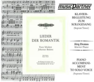 SCHUBERT - Lieder Der Romantik Voix Haute. CD - Partition - di-arezzo.fr