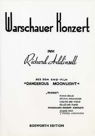 Richard Addinsell - Warschauer Konzert. - Partition - di-arezzo.co.uk