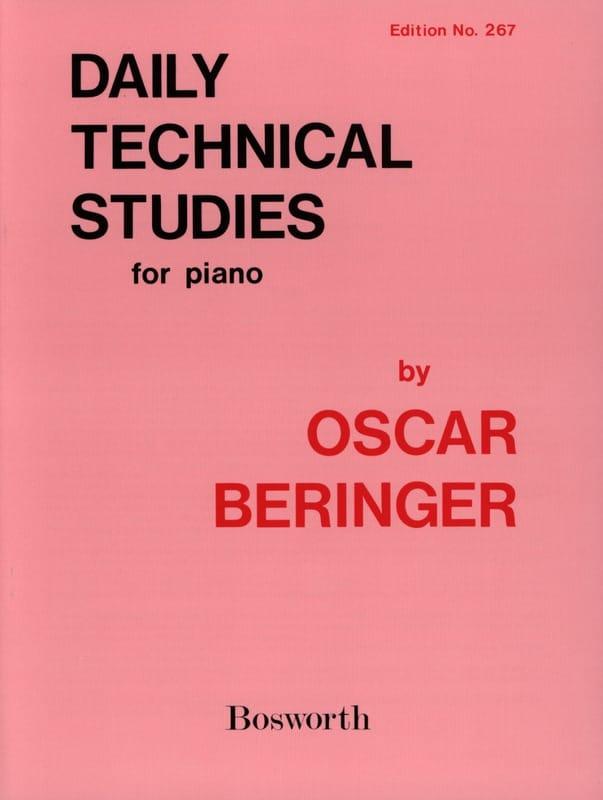 Daily Technical Studies - Oscar Beringer - laflutedepan.com