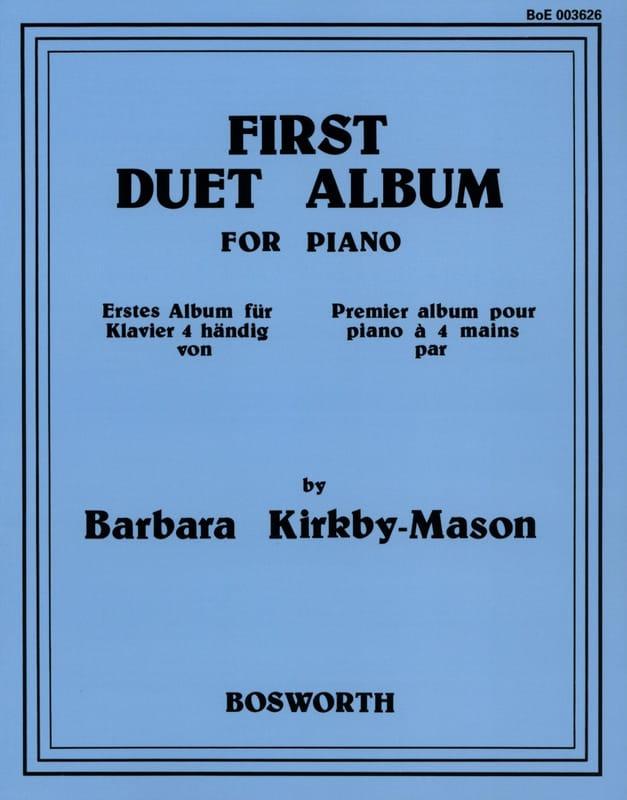 Barbara Kirkby-Mason - First Duet Album - Partition - di-arezzo.co.uk