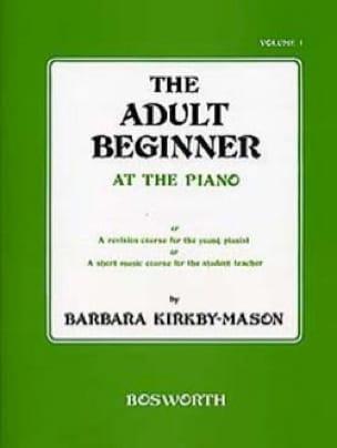 The Adult Beginner At The Piano Volume 1 - laflutedepan.com