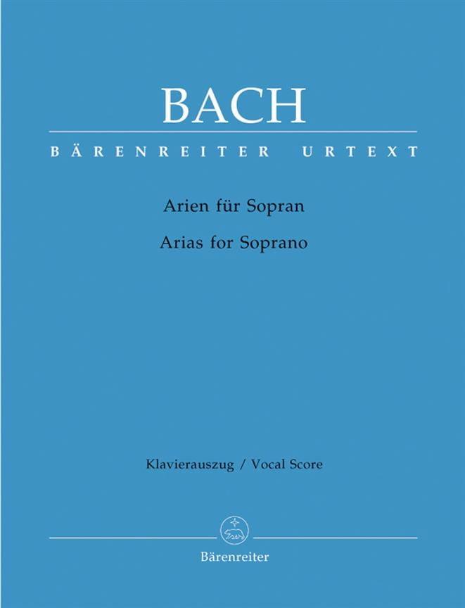 BACH - Das Arienbuch Soprano - Partition - di-arezzo.co.uk