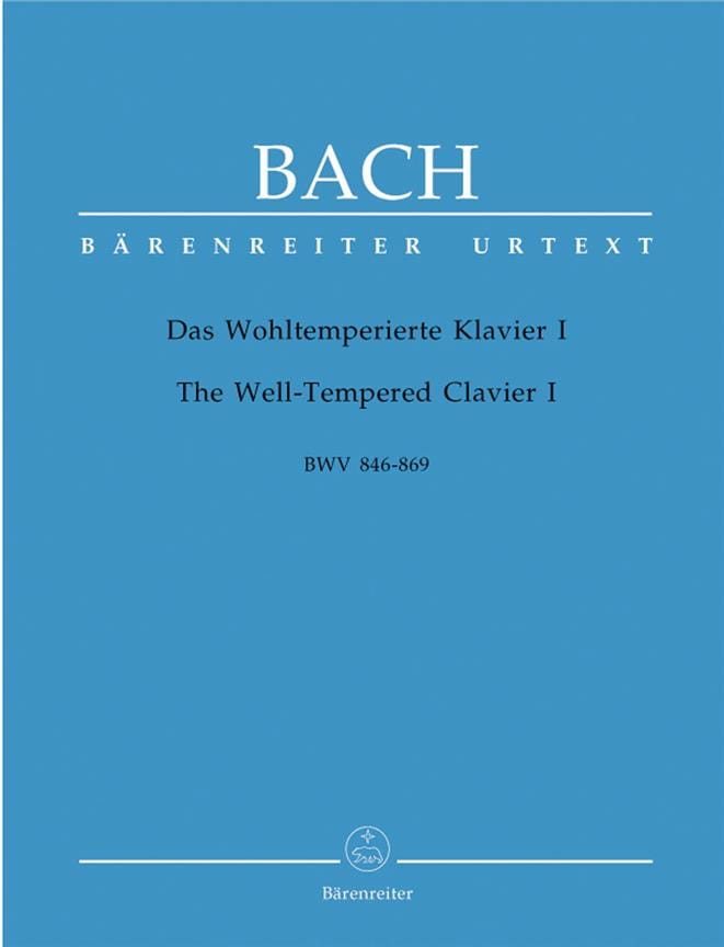 BACH - The Well Tempered Keyboard - Volume 1 - Partition - di-arezzo.com