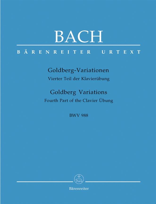 Variations Goldberg Bwv 988 - BACH - Partition - laflutedepan.com