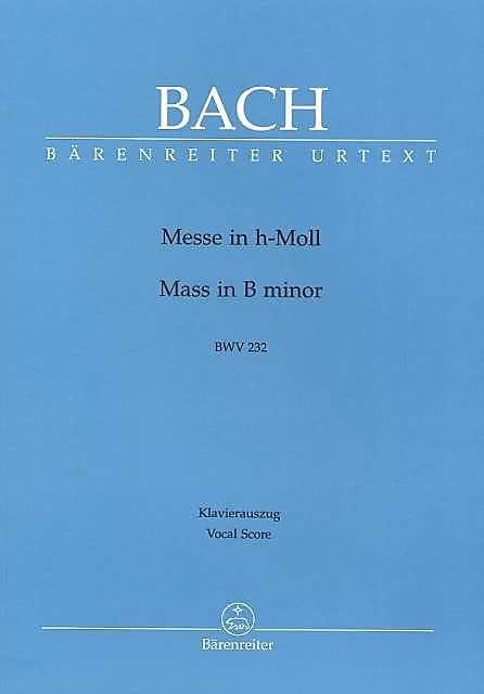 BACH - Mass in Si - Partition - di-arezzo.co.uk