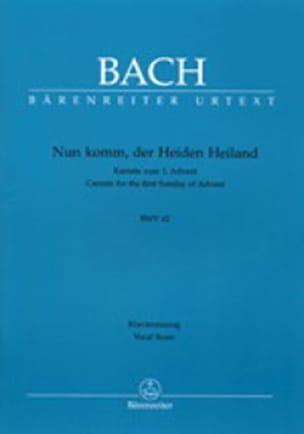 Cantate 61 Nun Komm, Der Heiden Heiland. - BACH - laflutedepan.com