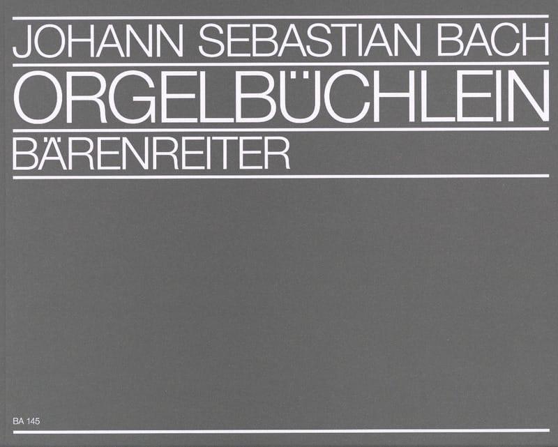 Orgelbüchlein et Autres Préludes de Chorals - BACH - laflutedepan.com