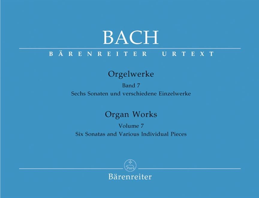 BACH - Orgelwerke. Band 7. Urtext Der Neuen Bach-Ausgabe - Partition - di-arezzo.co.uk