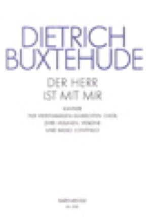 Dietrich Buxtehude - Der Herr Ist Mir Mit Buxwv 15. Choir Party - Partition - di-arezzo.co.uk