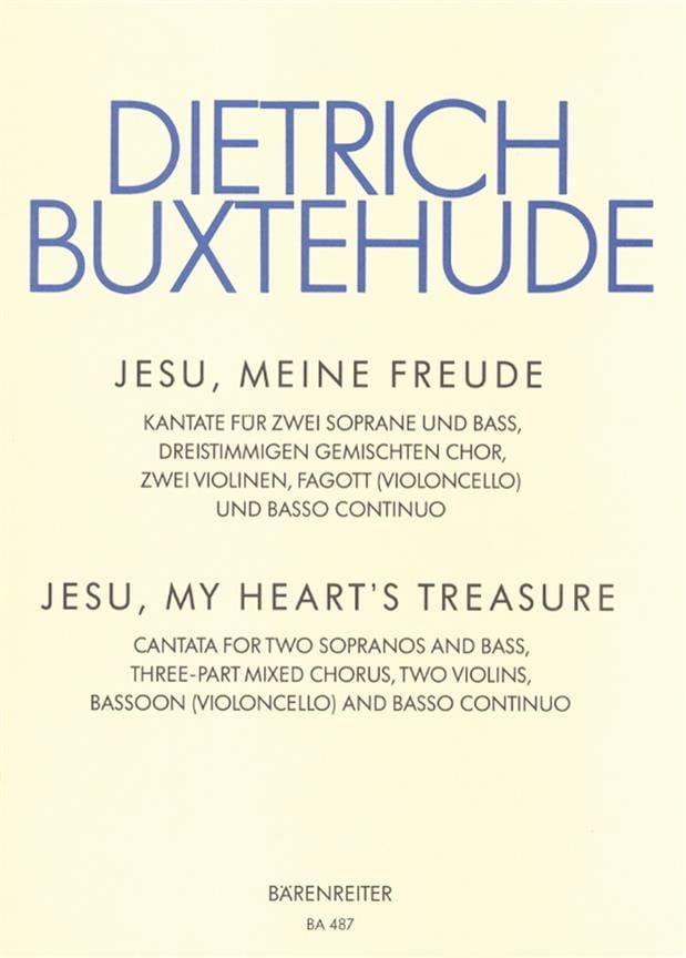 Jesu, Meine Freude. Buxwv 60 - Dietrich Buxtehude - laflutedepan.com