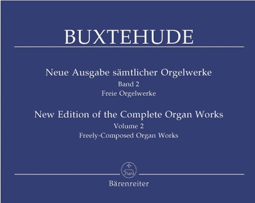 Dietrich Buxtehude - The Organ Work, Volume 2 - Partition - di-arezzo.co.uk