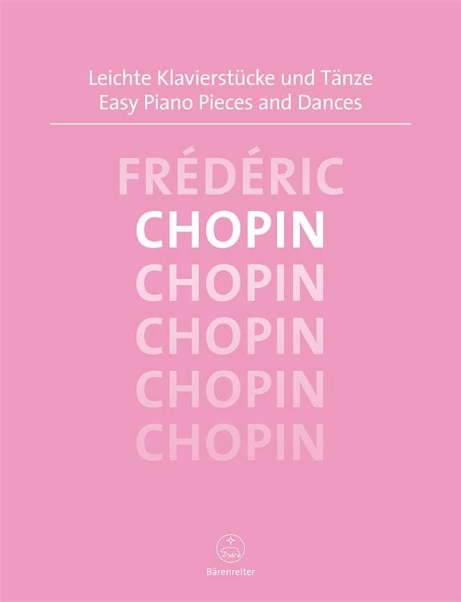 CHOPIN - Easy piano pieces and dances - Partition - di-arezzo.co.uk